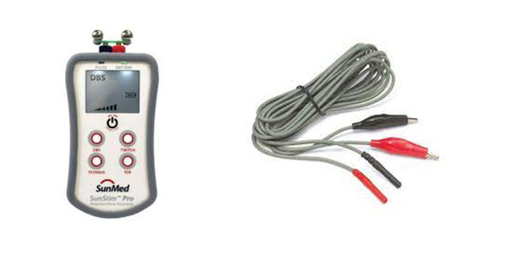 SunStim PRO and Cables at medana medical ireland