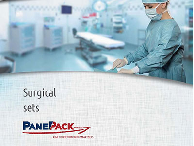 surgical sets by PanePack at Medana medical supplies and accessories Ireland